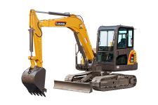雷沃FR60E2 挖掘机整机视图全部图片