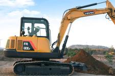 雷沃FR60E2 挖掘机施工现场全部图片