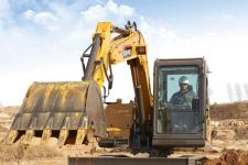 雷沃FR80E2 挖掘机施工现场全部图片