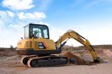 雷沃FR65E2 挖掘机施工现场51088