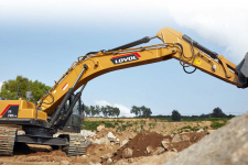雷沃FR370E2-HD 挖掘机施工现场全部图片