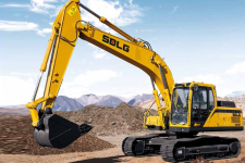 临工E6210F履带挖掘机整机视图全部图片