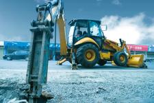 成工866H / 866HTC挖掘装载机施工现场52021