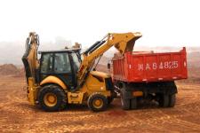 成工862H挖掘装载机施工现场52028