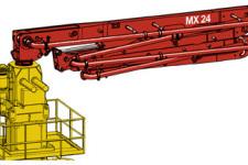 普茨邁斯特MXR 24-4固定式布料桿