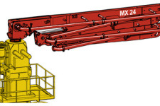 MXR 24-4固定式布料杆