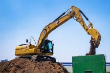 卡特彼勒Cat320GX液压挖掘机施工现场53802