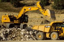 卡特彼勒Cat374液压挖掘机施工现场53813