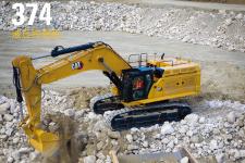 卡特彼勒Cat374液压挖掘机施工现场53814