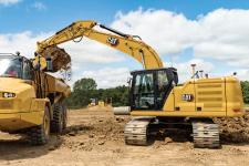 卡特彼勒新一代Cat323液压挖掘机施工现场53821