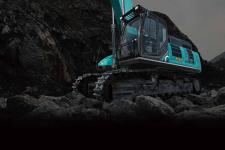 神钢SK500XD-10 SuperX履带挖掘机局部细节全部图片