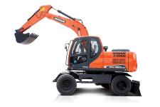 斗山DX150W-9C轮式挖掘机
