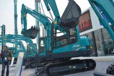 山河智能SWE60E履带挖掘机局部细节全部图片