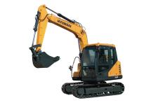 现代R75VS履带挖掘机整机视图全部图片