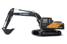 现代R215VS履带挖掘机整机视图54293