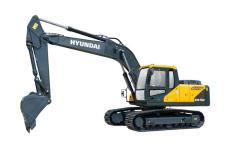 现代R215VS履带挖掘机整机视图54295