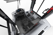 徐工XC958-EV纯电动装载机局部细节全部图片