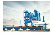 西筑JD3000瀝青混合料攪拌設備