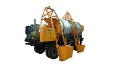 LY500型移动式沥料热再生机