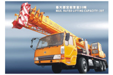 长江LT1020/2汽车起重机整机视图7012