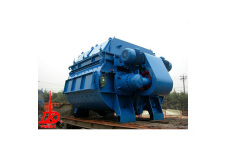 中國現代JS1000雙臥軸強制式混凝土攪拌機