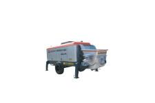 HBT100S26220C双动力高压大排量拖式混凝土泵