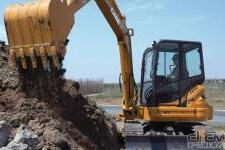 凯斯CX58C履带挖掘机施工现场全部图片