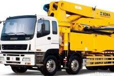 廈工XXG5380THB混凝土泵車整機視圖8230