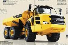 A40F FS铰接式卡车