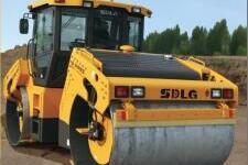 LGD814H全液压双钢轮振动压路机