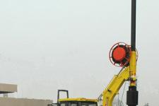 DFR10轮式半回转旋挖钻机