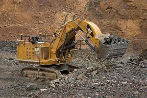 卡特彼勒6015/6015 FS礦用液壓挖掘機 圖片集