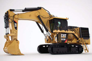 卡特彼勒6020B礦用液壓挖掘機 圖片集