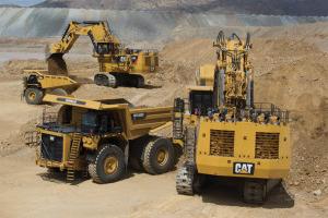 卡特彼勒6040/6040 FS礦用液壓挖掘機 圖片集