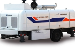 中联重科HBT60.16.110SU拖泵图片集