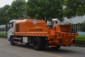 中聯重科ZLJ5130THBE-8014M混凝土車載泵圖片集