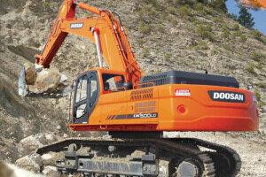 斗山DX500LC/DX500LC-G履帶挖掘機圖片集