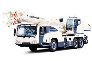 长江TTC025G-Ⅱ汽车起重机图片集