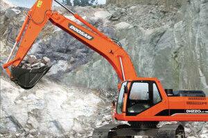 斗山DH220LC-9E履带挖掘机图片集