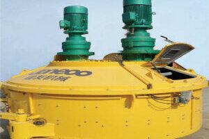 山推JN3000立轴混凝土搅拌主机图片集