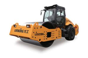龙工LG523B9机械驱动单钢轮振动压路机图片集