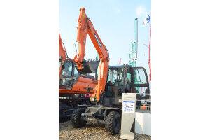 斗山DX60W履帶挖掘機圖片集