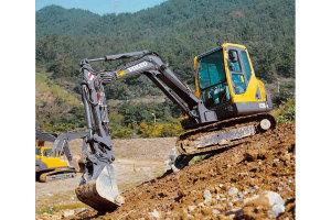 沃爾沃EC55B Pro挖掘機圖片集