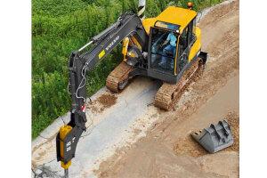 沃尔沃EC80D PRO履带挖掘机图片集