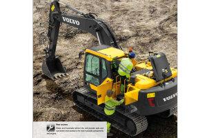 沃尔沃EC170D履带挖掘机