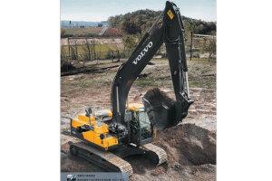 沃尔沃EC220D履带挖掘机图片集