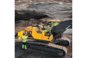 沃尔沃EC220D履带挖掘机