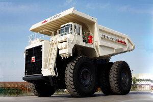 北方重工NTE260电传动矿用自卸车