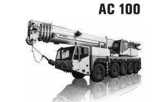 特雷克斯AC 100全路面起重机图片集