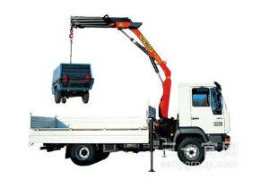 三一SPK6500 5.8吨米折臂式随车起重机图片集